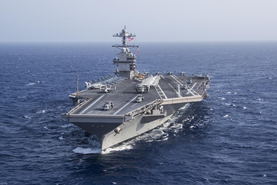 Aircraft carrier, U.S. Navy