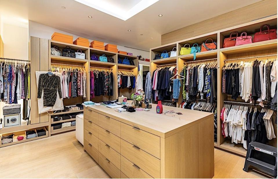 Closet (one of them)