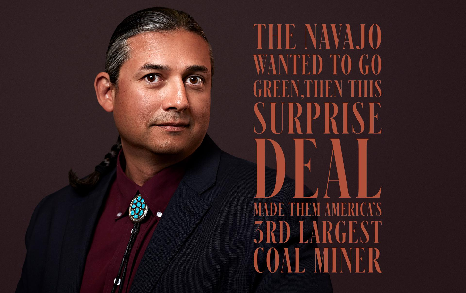 The Navajo Wanted To Go Green, Then This Surprise Deal Made Them America's Third-Largest Coal Miner
