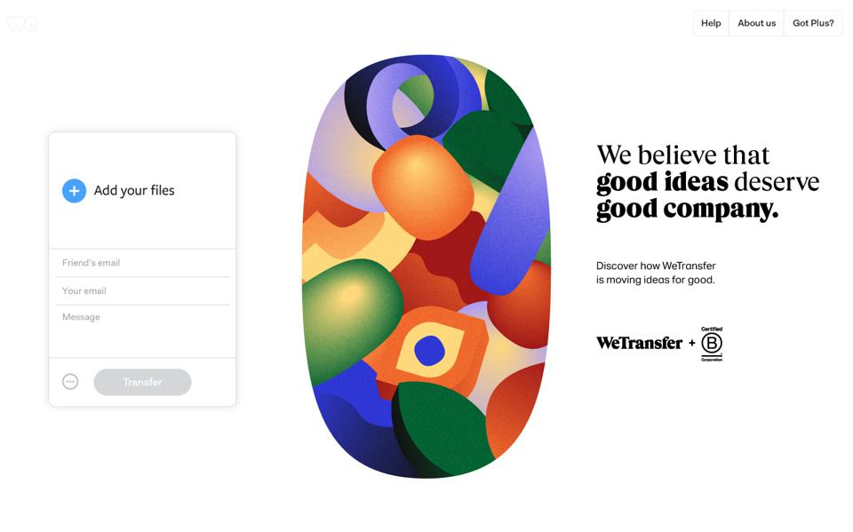 WeTransfer announces it's becoming a B Corp