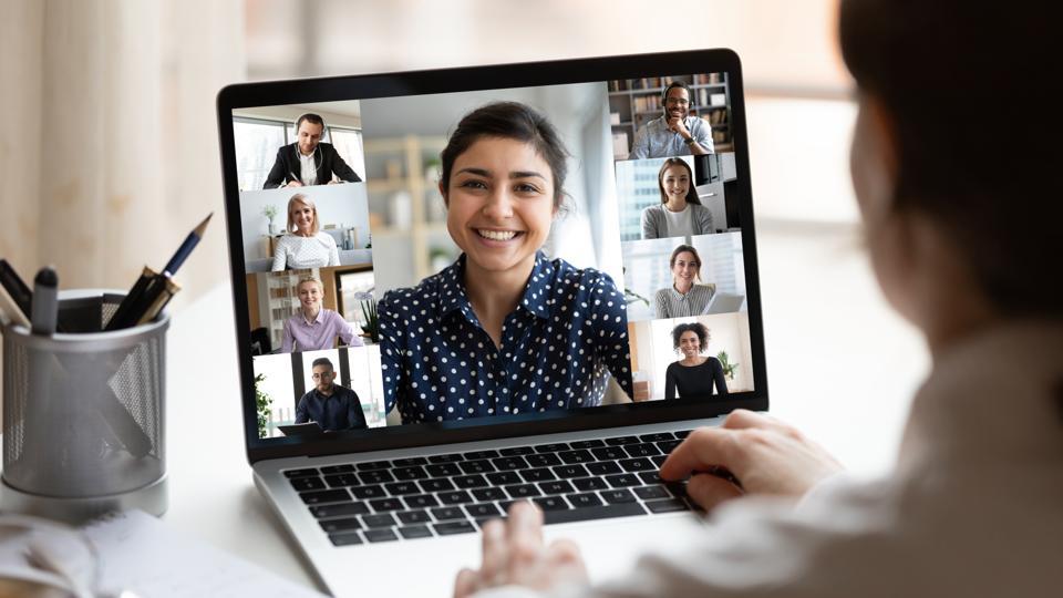 video training session
