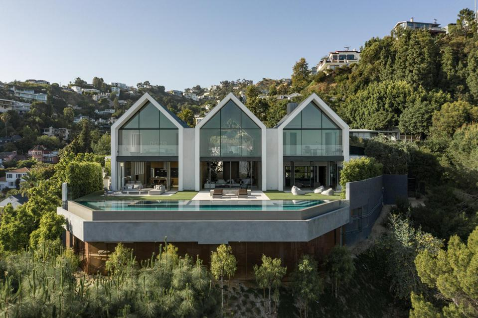 Forest Knoll, Standard Architecture, views, Los Angeles, Hollywood Hills, Plus Development