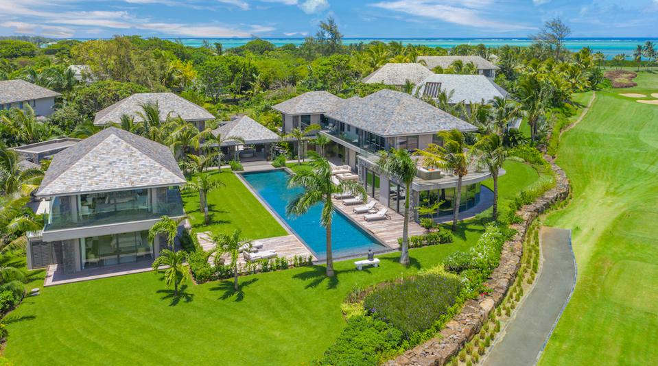 Richstone Properties' Villa Charlotte, a new private rental property on the island of Mauritius.