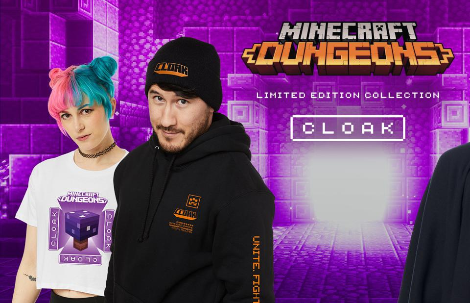 Cloak's Minecraft Dungeons collection has contributed to the company's exponential growth