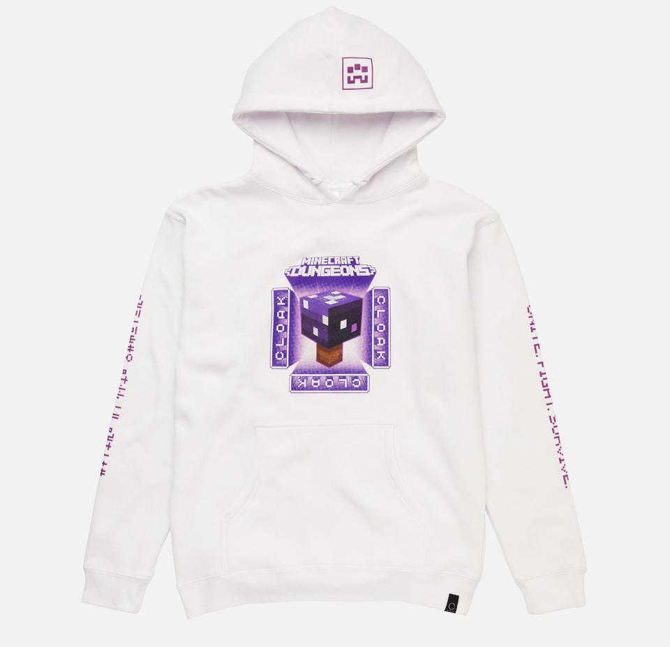 The Minecraft Deathcap Hoodie from Cloak