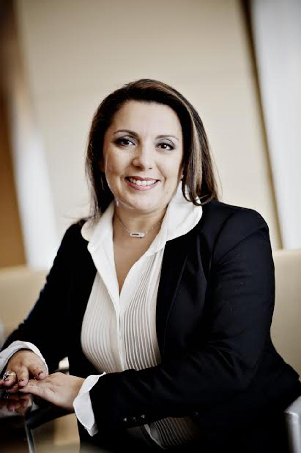 Alexa Guenoun, president of the Americas and Global Head of Partners for Temenos.