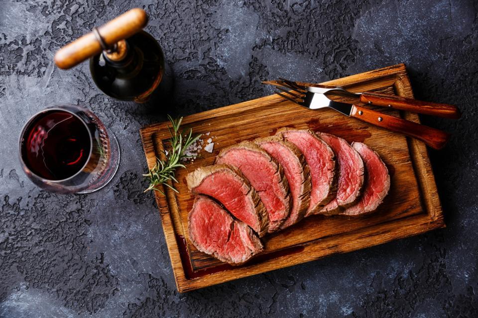 Bone-In Butcher Shop Beef Tenderloin Steak Premier Choice
