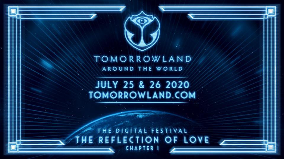 Tomorrowland Around The World digital festival depiction.