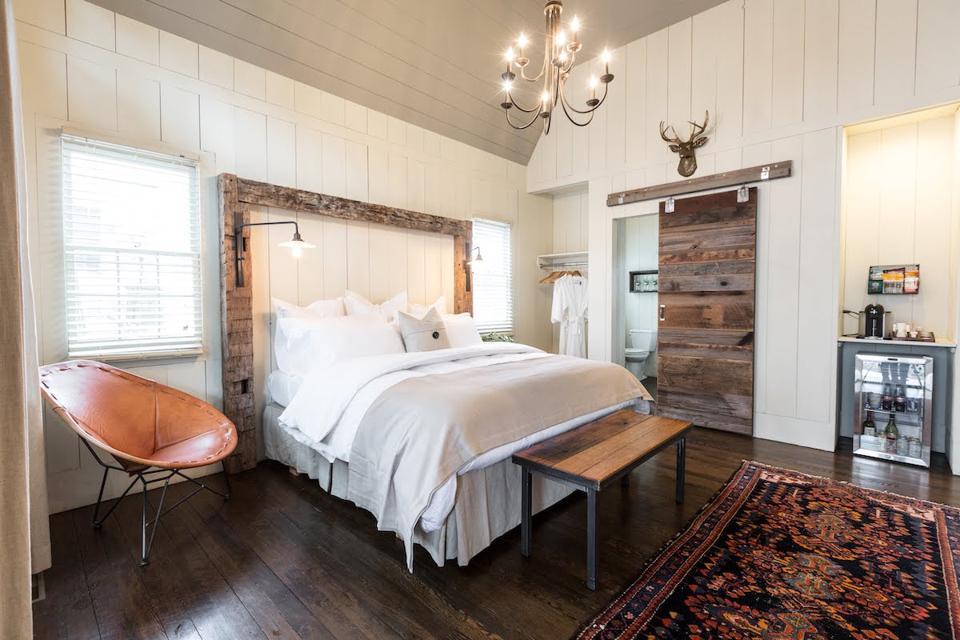 Cedar Lakes Estate Sleepy Pine Cottage Interior in Hudson Valley New York