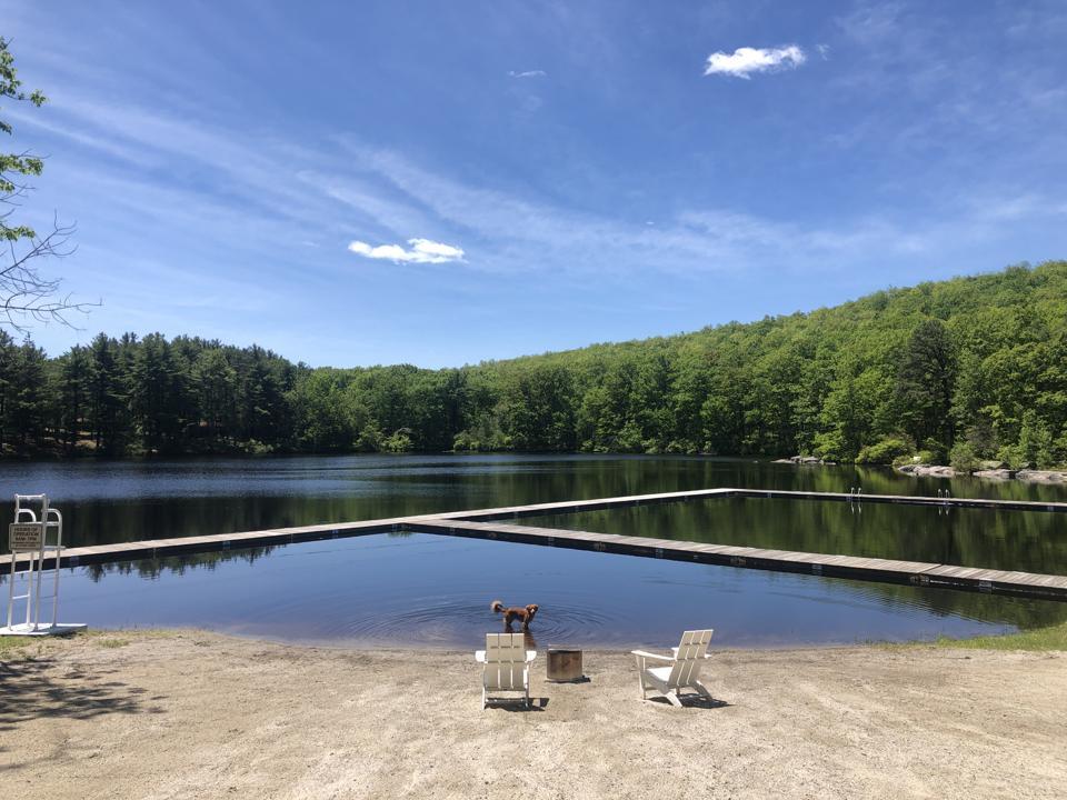 Lake Views at Cedar Lakes Estate in Hudson Valley New York