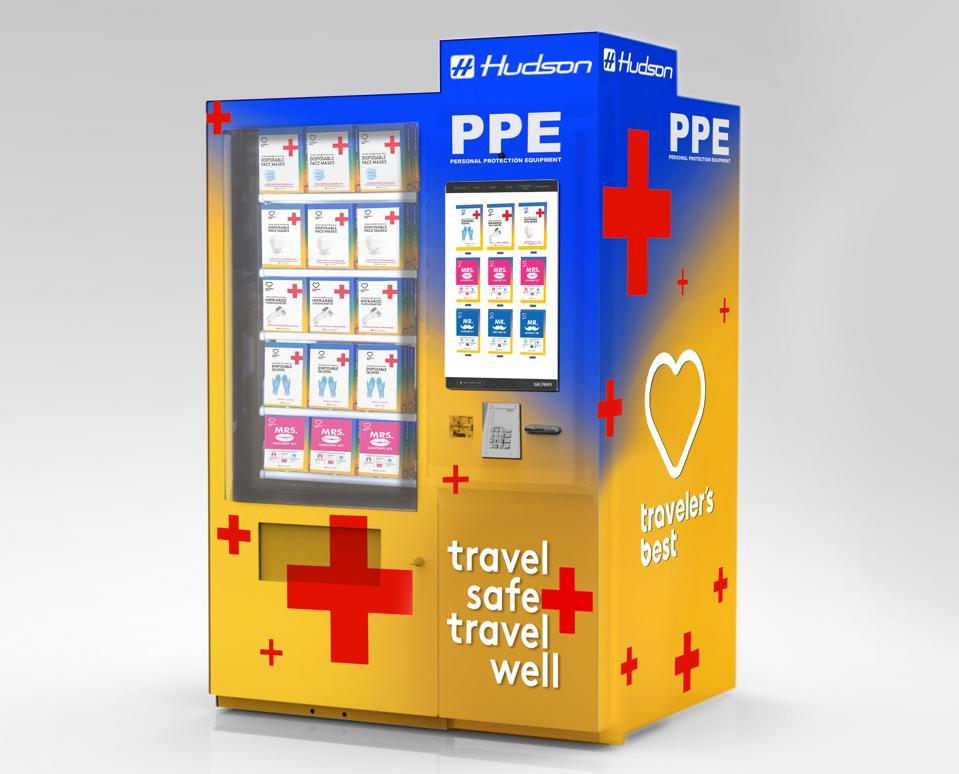 Hudson PPE vending machine
