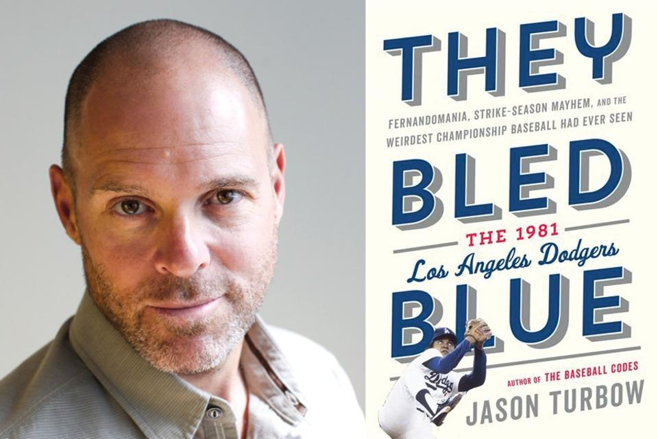 Jason Turbow, co-founder of the Pandemic Baseball Book Club, is the author of the 2020 baseball book They Bled Blue.