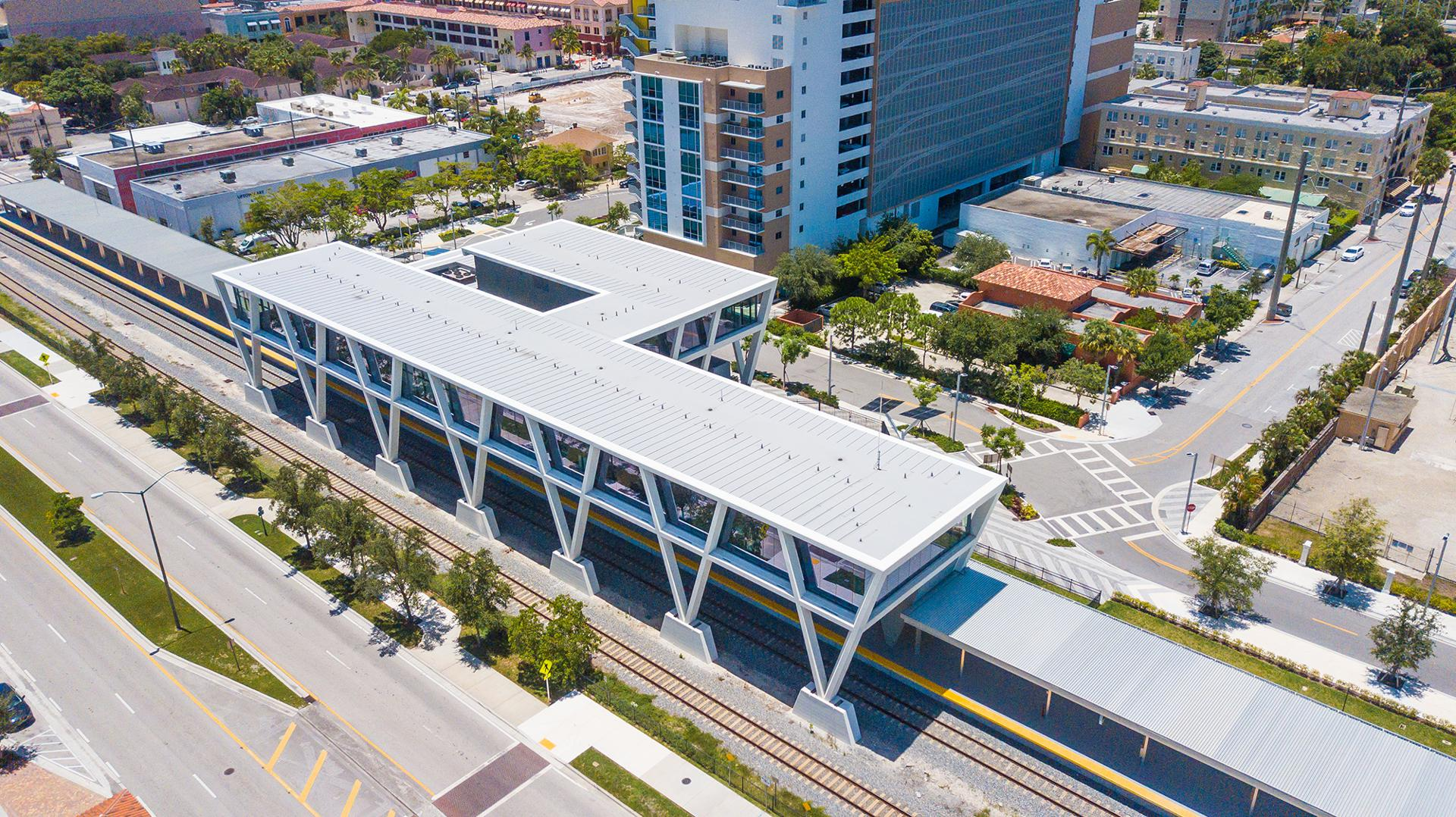"Sunshine Station  West Palm Beach is the current terminus for Wes Edens' Brightline service to Miami. ""We'll know how it does in 2023."""