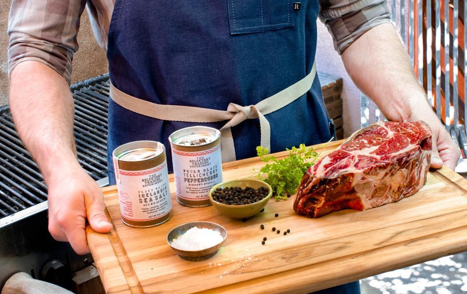 Flannery Beef Dry-Aged Steak & Seasoning Gift Set