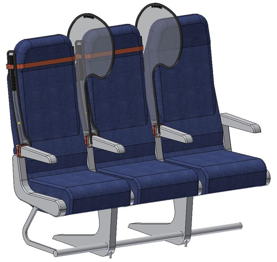 The Personal Protection Window keeps passengers safe on commercial flights.