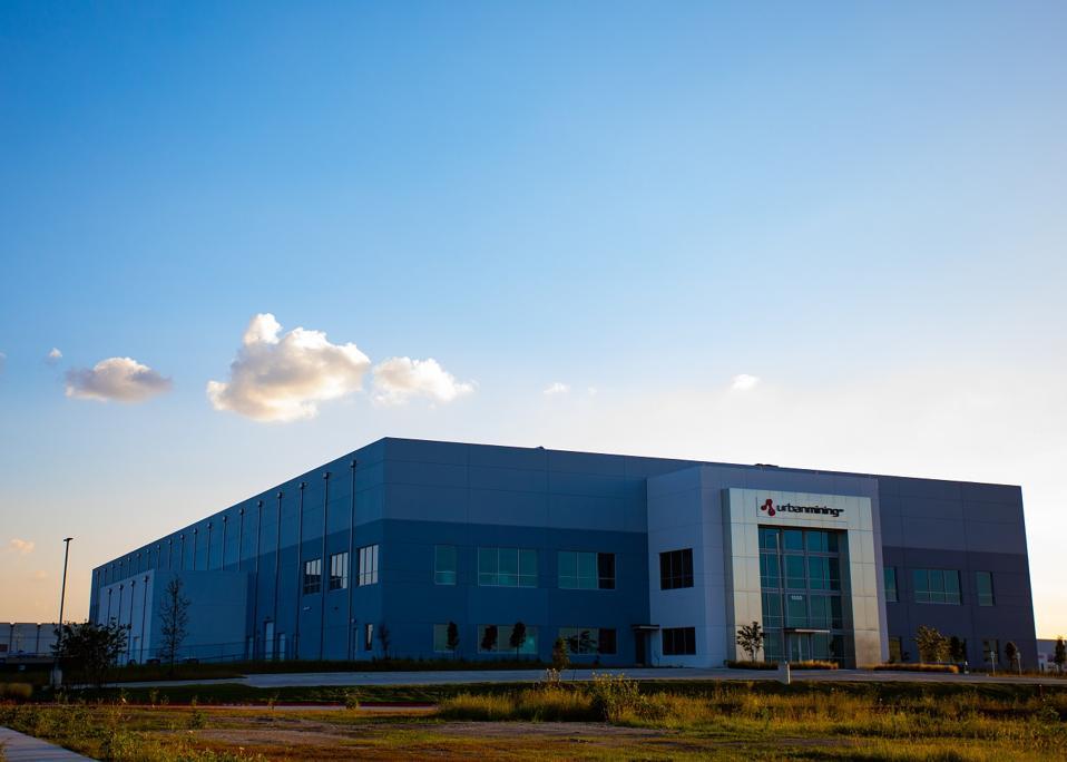 Urban Mining Company's new facility in San Marcos, Texas
