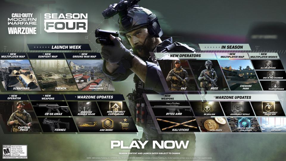 Everything New In Season 4 Of Call Of Duty Modern Warfare And