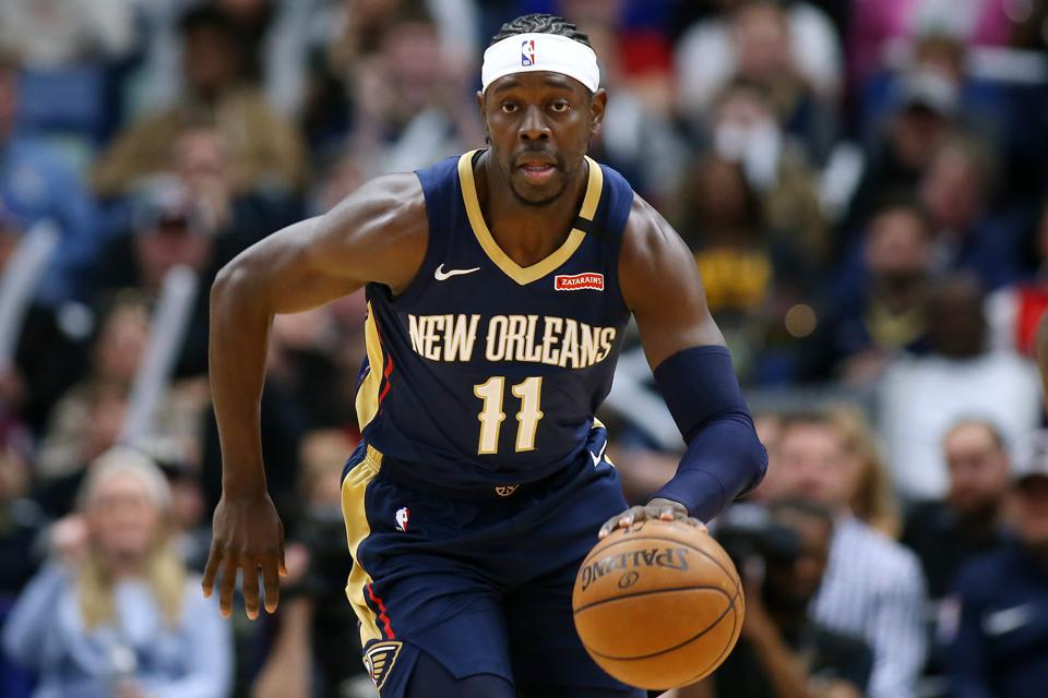 Cleveland Cavaliers v New Orleans Pelicans; Jrue Holiday