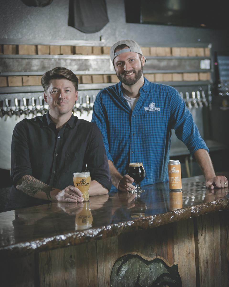 Colin Jones and Neil Fisher, the co-founders of Colorado's WeldWerks Brewing, have come a long way since home brewing together in Fisher's garage.