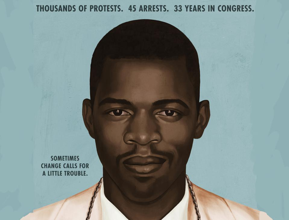 John Lewis Good Trouble Documentary one-sheet poster