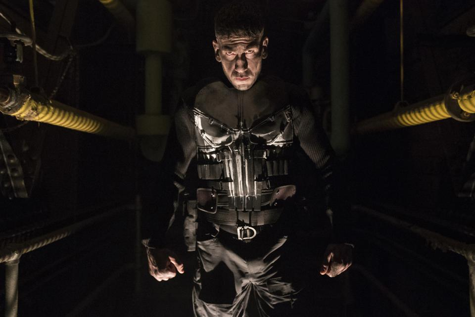 Production still of 'The Punisher'