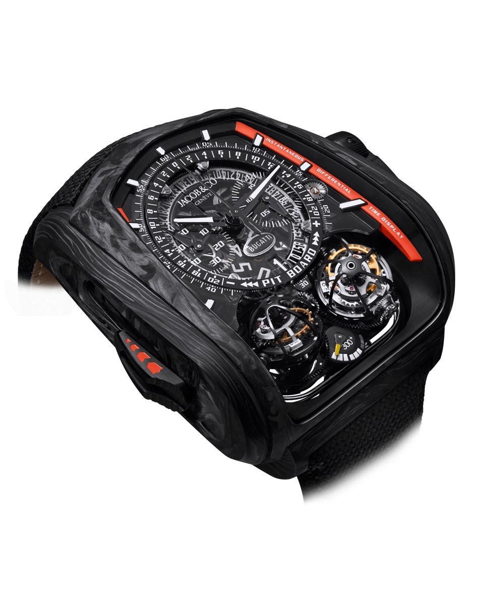 Jacob & CO Twin Turbo Furious Bugatti 300+ watch