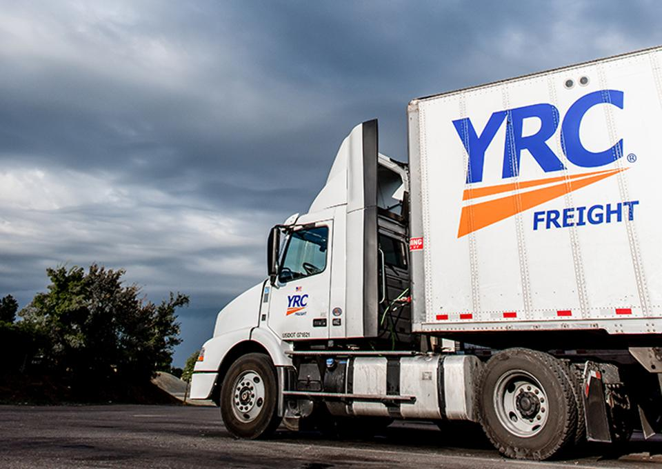 YRC is consolidating its five companies' finance and HR systems in the cloud.