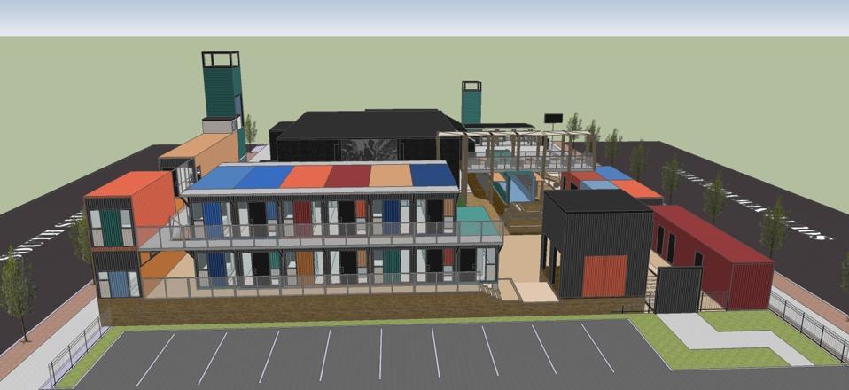 taman hiburan kontainer di Atlantic City