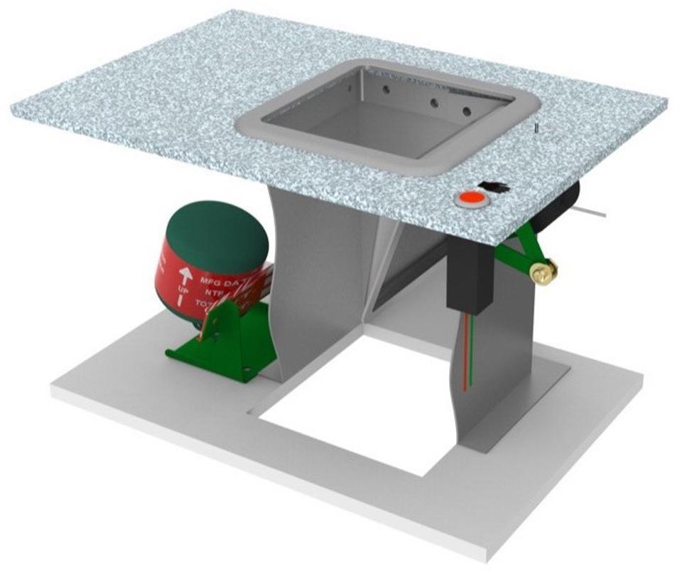 Proposed waste bin