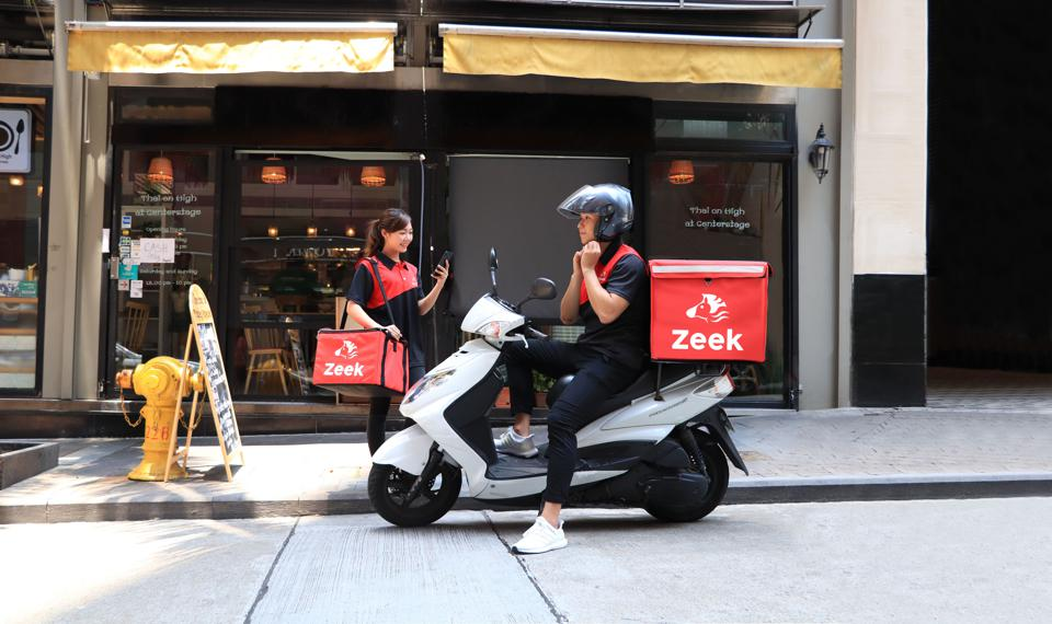 Zeek delivery couriers.