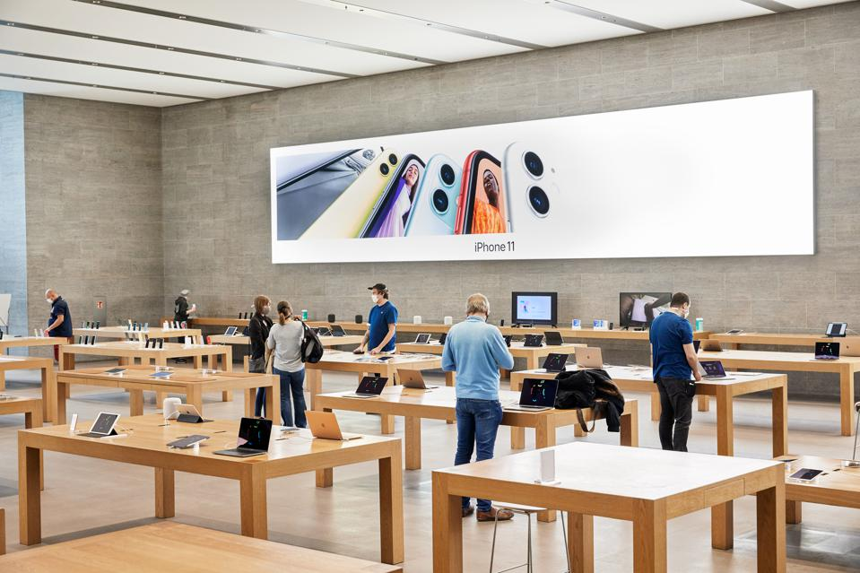 Apple Stores in England and Northern Ireland are about to re-open.