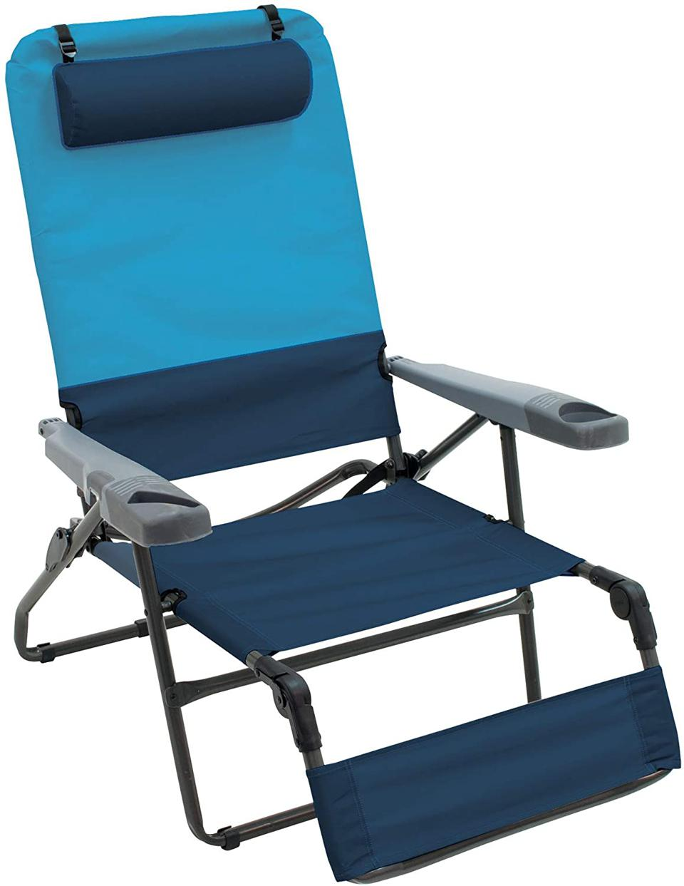 Rio Gear 4-Position Ottoman Lounge Chair