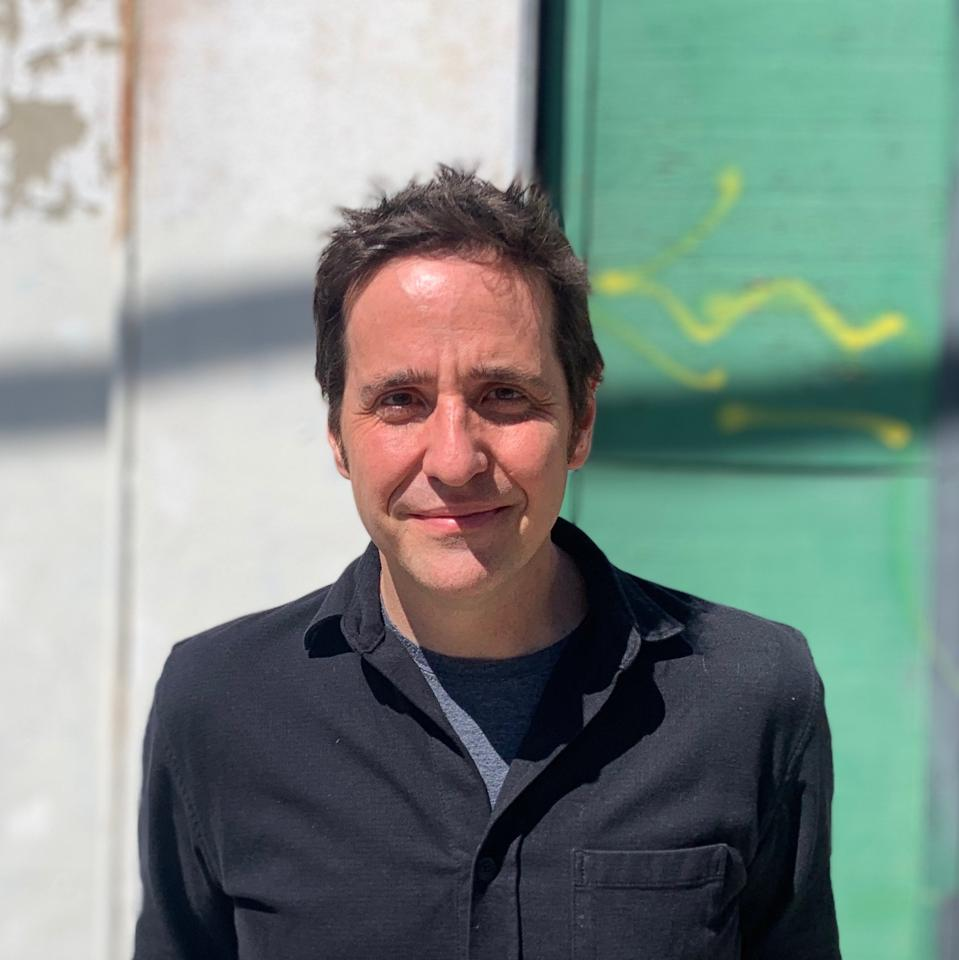 Long Gone Summer Director AJ Schnack photographed in Los Angeles, February 2020