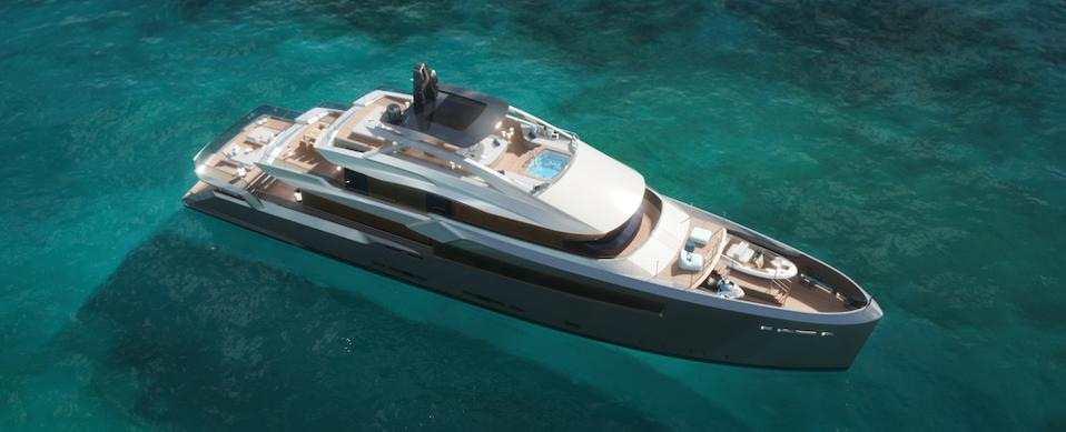 Estrade motor yacht by Bannenberg & Rowell