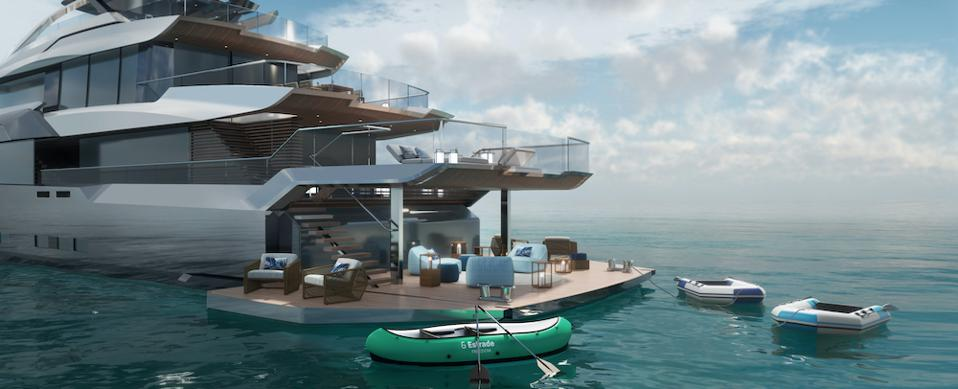 Estrade yacht by Bannenberg & Rowell