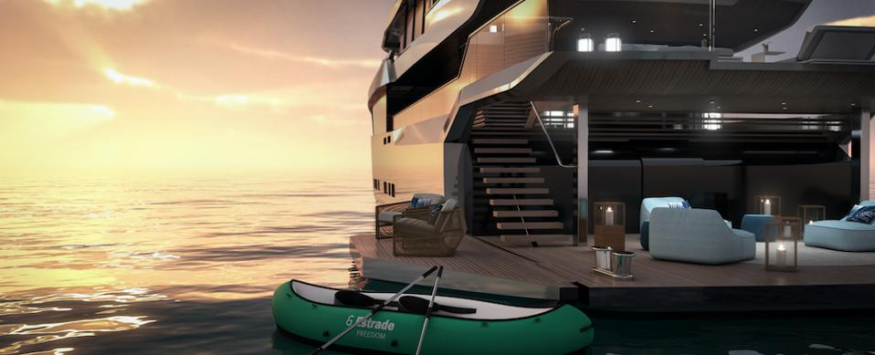 Bannenberg & Rowell's post-hedonistic Estrade yacht
