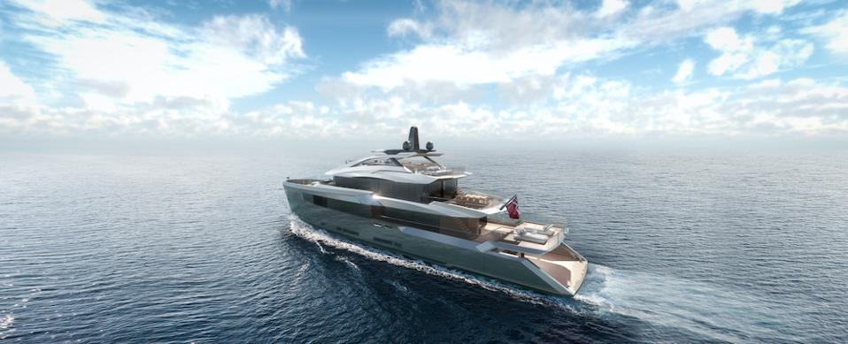 Bannenberg & Rowell present the Estrade motor yacht