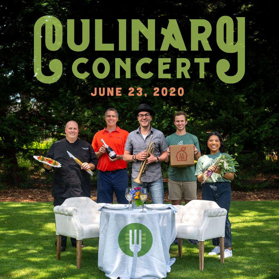 Mill Village in South Carolina is hosting a series of culinary concerts.