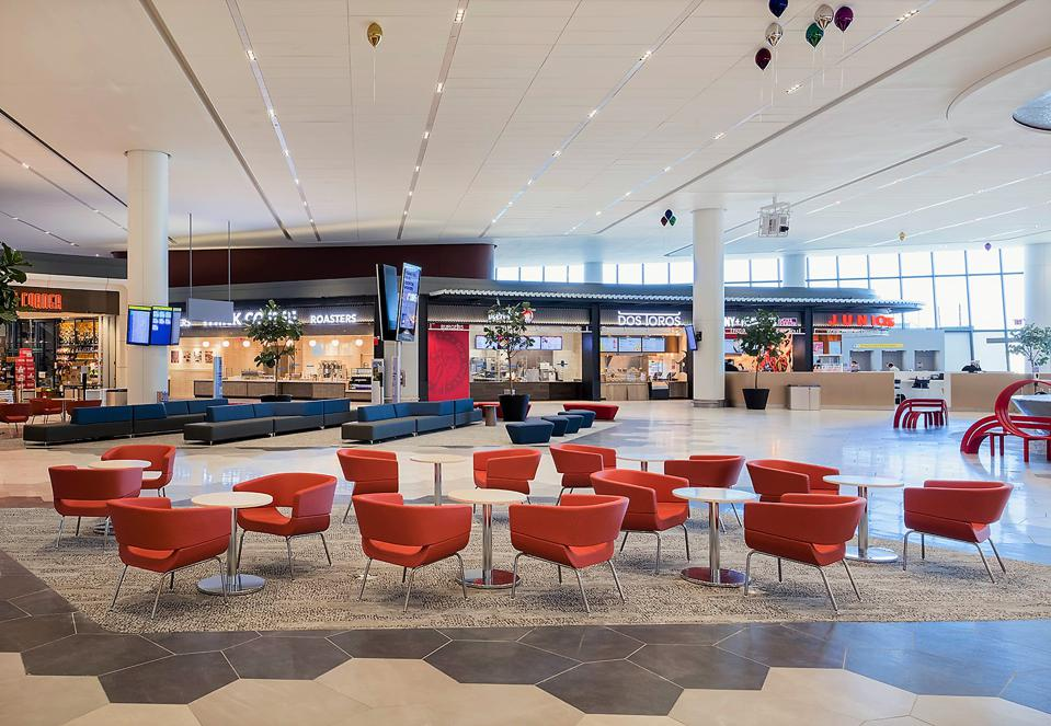 LaGuardia Terminal B in Queens, New York, LaGuardia Gateway Partners