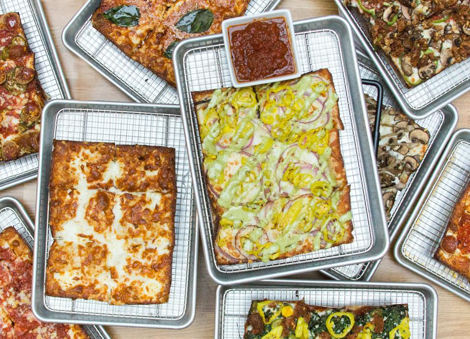 Emmy Squared's Detroit-syle pizza