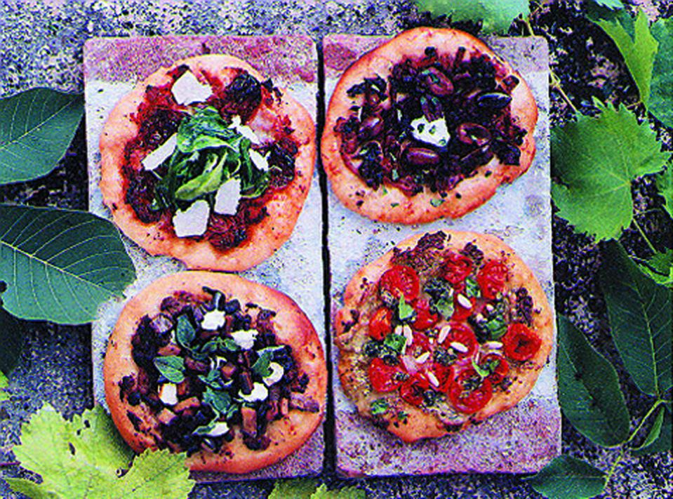 Pizzas made from Bella Cucina's kit