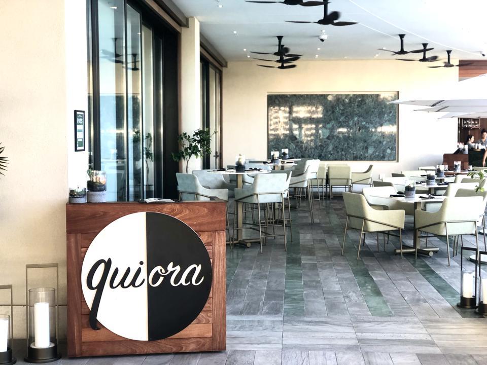 Restaurant Quiora à Waikiki