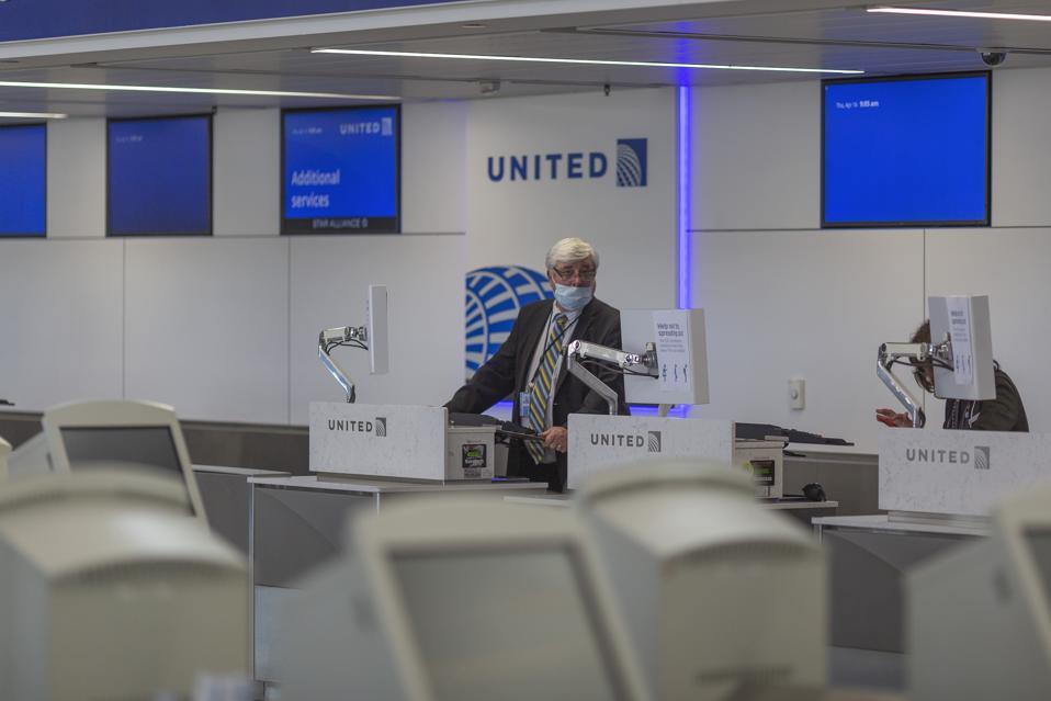 Passenger Traffic At LAX Airport Drops 90% During Coronavirus Pandemic