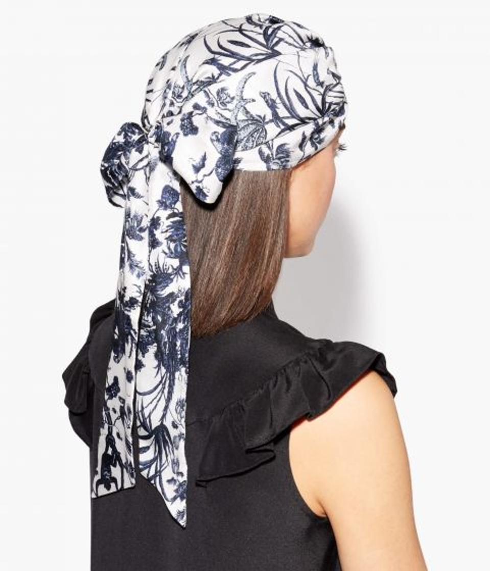 Fabric Turban Frida Toile Jouy by Erdem: