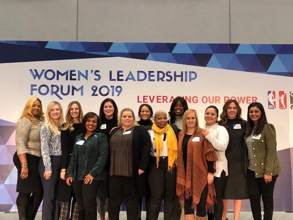 Dallas Mavericks at the 2019 NBA Women's Leadership Forum.