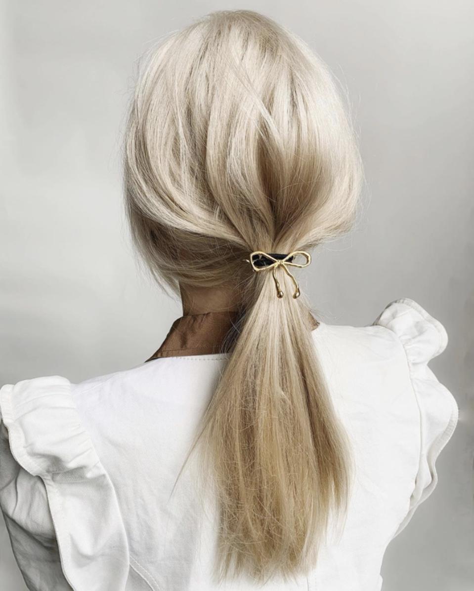 Glossy Bow Pony by Lelet NY