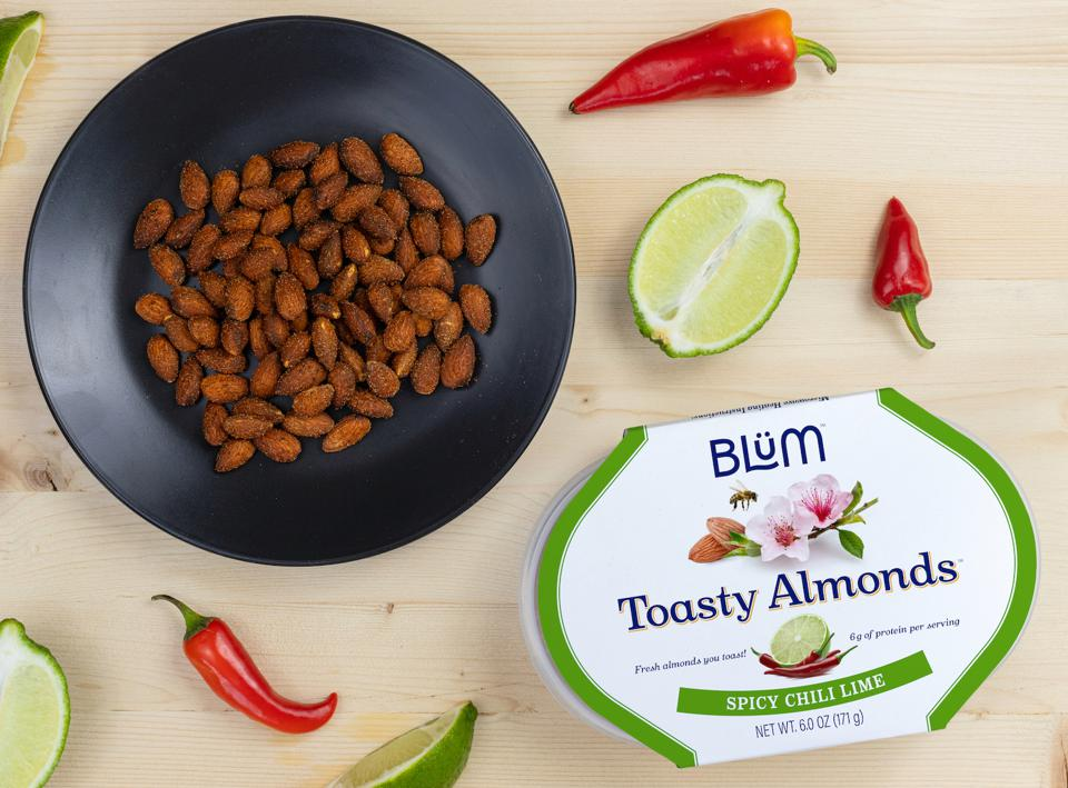 Blüm toasty almonds Chico Nuts Company