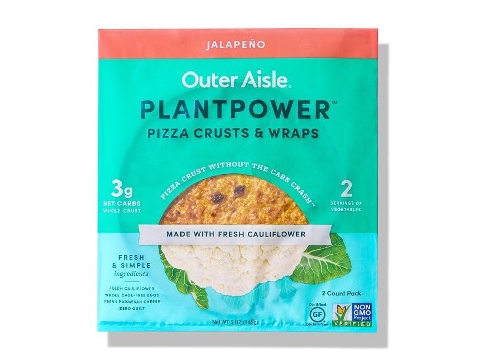 Outer Aisle PLANTPOWER™ Cauliflower Pizza Crusts