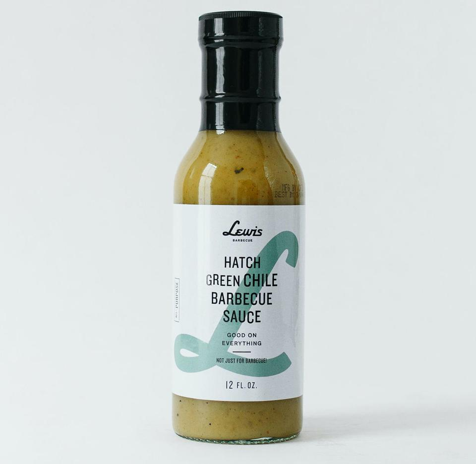 Lewis Barbecue Hatch Green Chile Barbecue Sauce John Lewis Brisket BBQ Barbecue Charleston