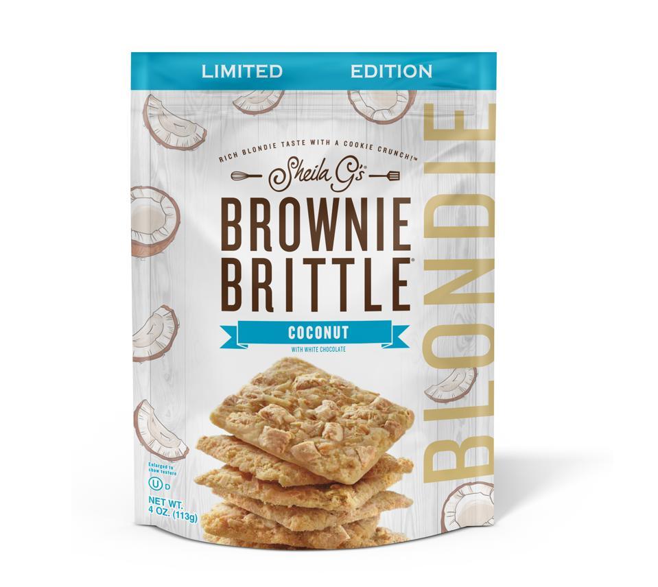 Sheila G's Brownie Brittle Coconut Blondie White chocolate
